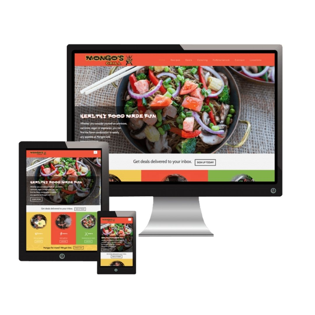 Mongos Grill Website