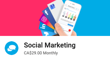 Social Marketing App